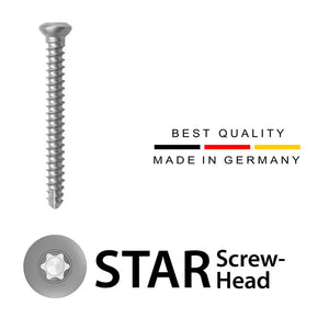 2.7mm Cortical Screws (Stainless Steel)