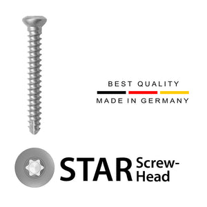 3.5mm Cortical Screws (Stainless Steel)