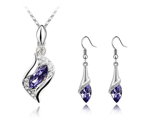 Purple Spray Droplets - Joyas Por Amor