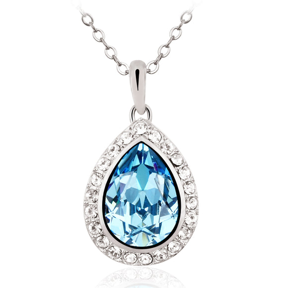 Light Blue Drop - Joyas Por Amor