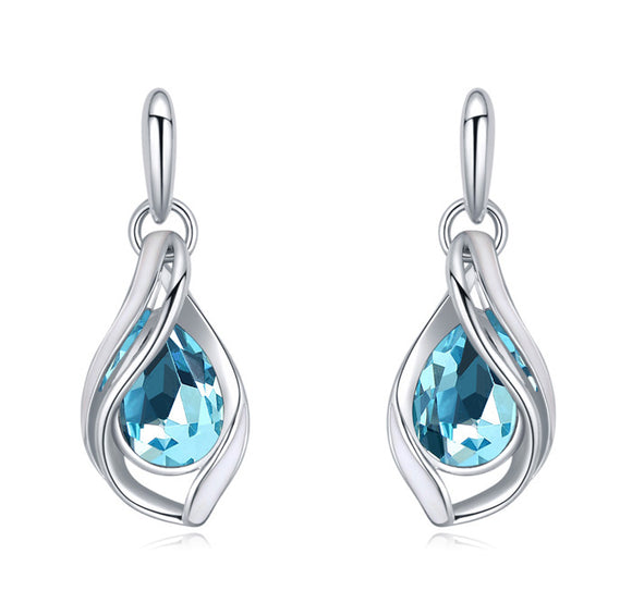 Blue See Spray Droplets - Joyas Por Amor