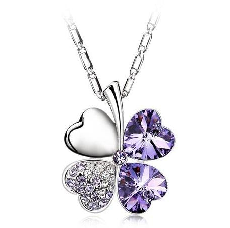 Light Violet Flower - Joyas Por Amor