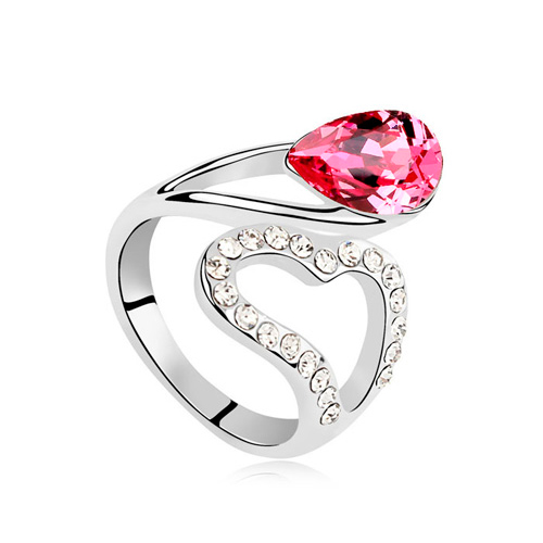 Red Ruby swarovski goldinlove