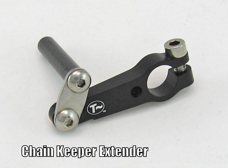 Clamp-On Single-Sided Chain Keeper