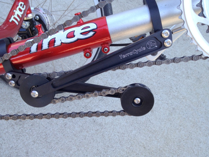 T-Cycle Chain Tensioner for Circular Tubing