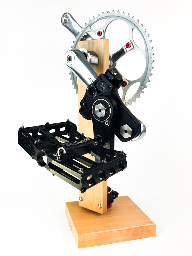 Easy Knees Pedal Swing and Crank Shortener Kit (One Side)