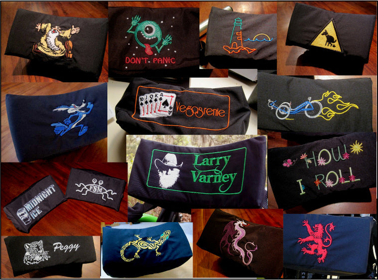 Custom Embroidered Neckrest Cover Deposit
