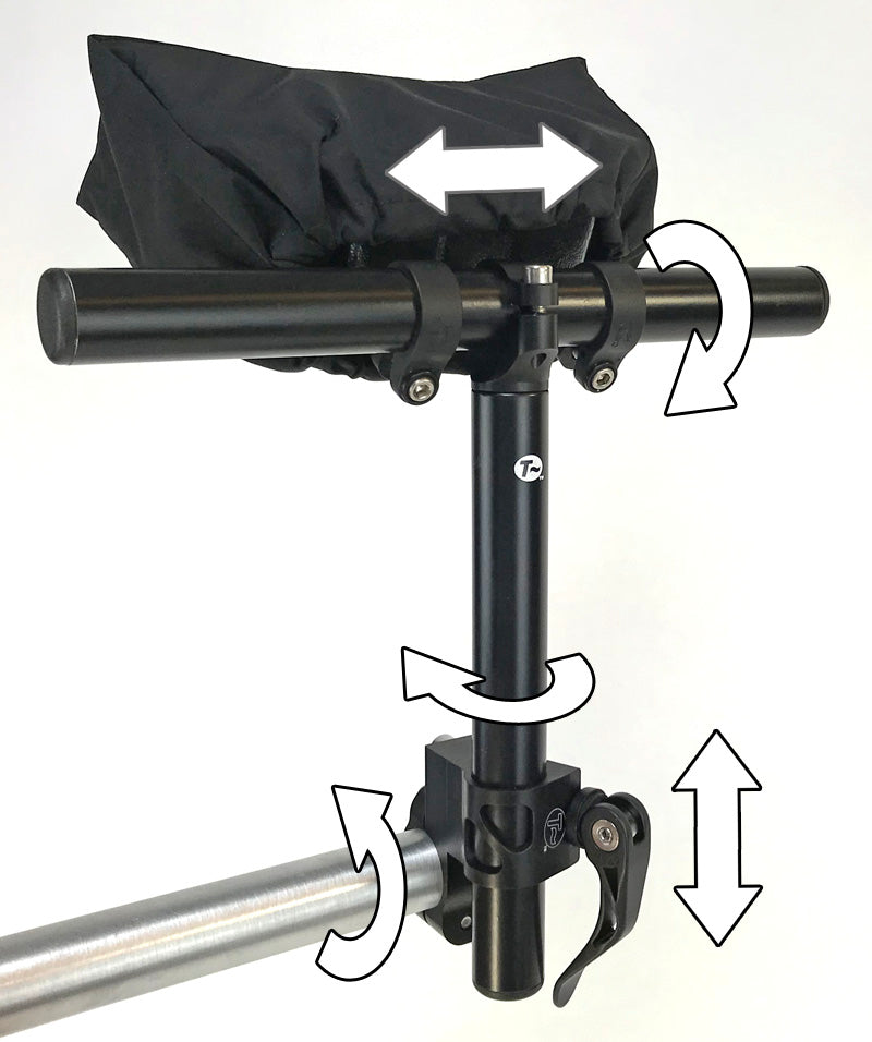 Greenspeed Neckrest Kit (T-Cycle QR Mount)