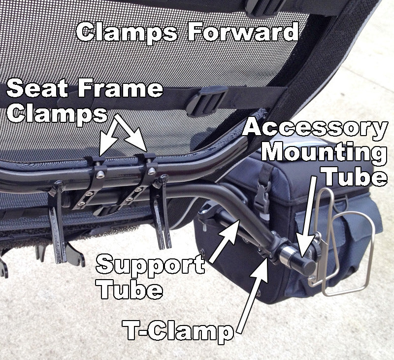 HP Scorpion SeatSide Mount Kit (Back of Seat)