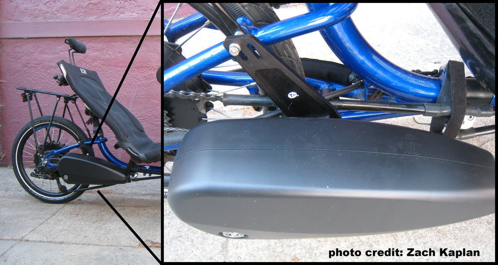 ICE Configured Battery Mount - Rigid Rear