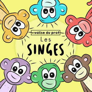 Cliparts singes
