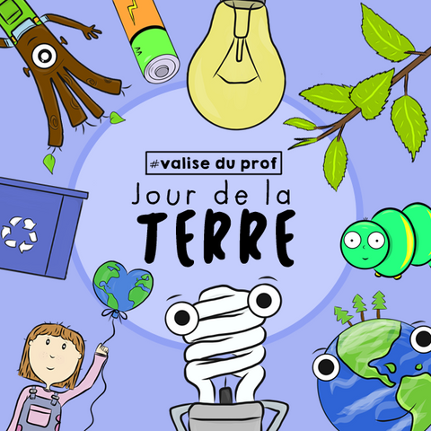 Jour de la Terre / Earth Day Cliparts