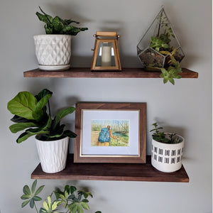 A Unique Way to Display Framed Art