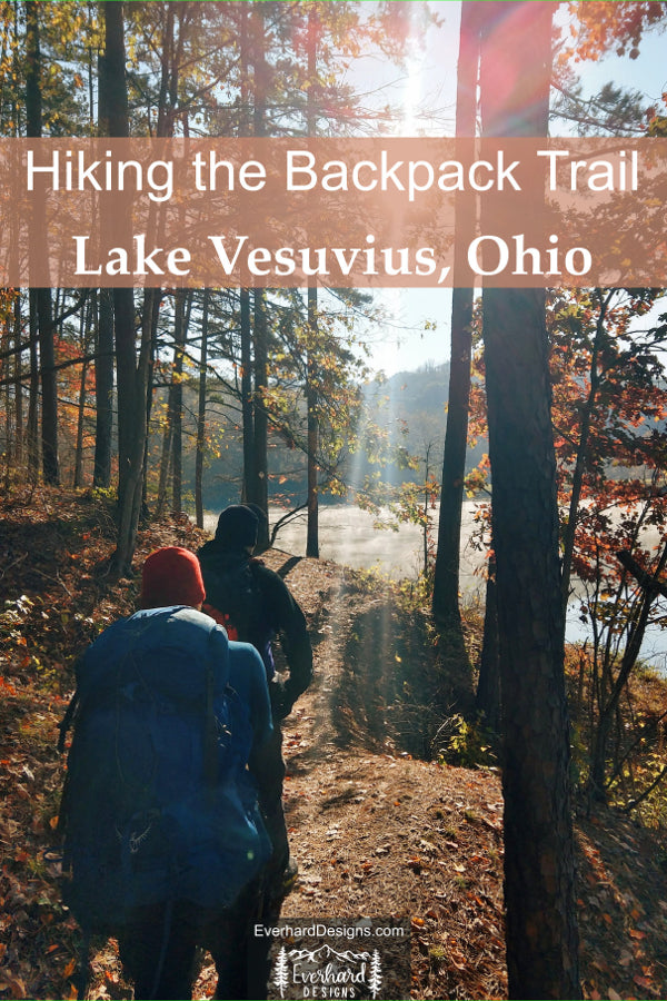 Lake Vesuvius Backpacking Trip. Hiking and Camping in Southern Ohio