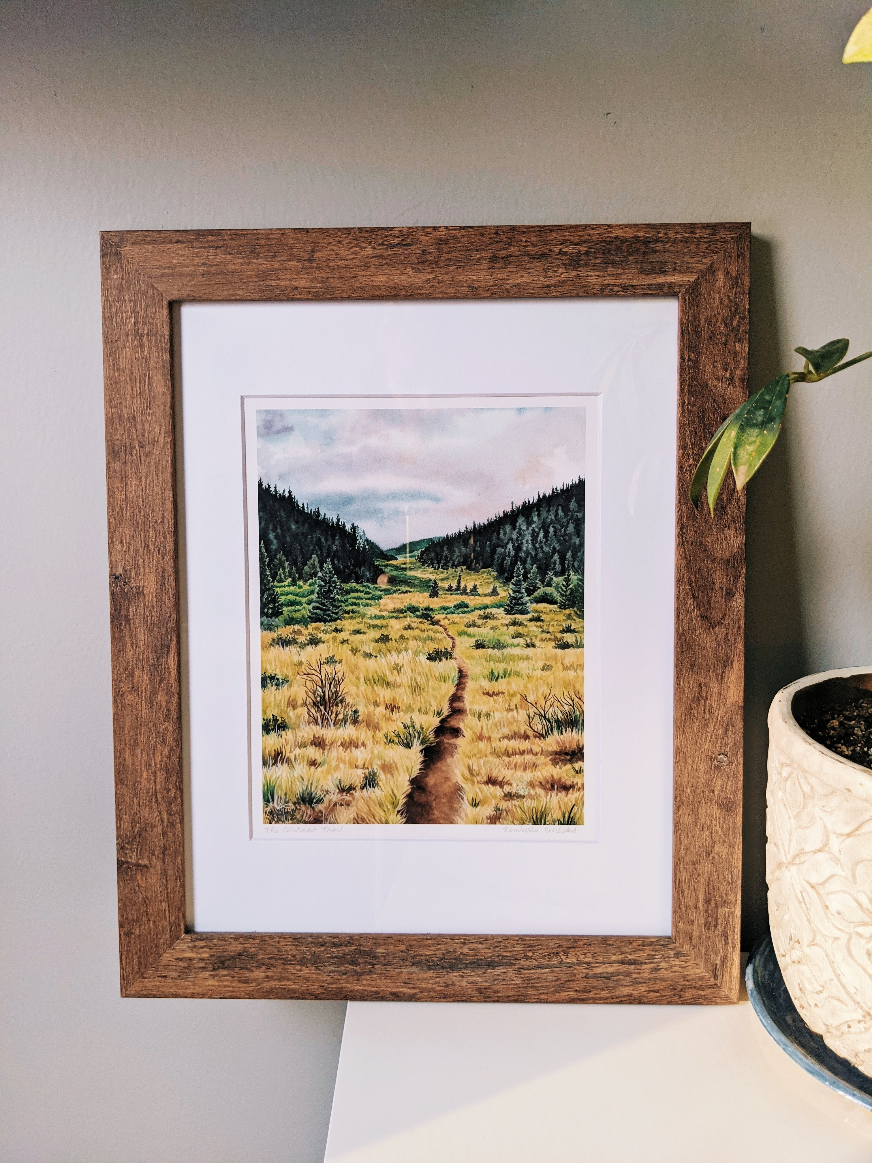 The Colorado Trail - Ready To Hang Wall Art - Kim Everhard Art