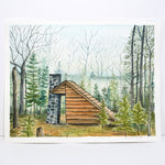 Shelter in the Woods - Original Painting - Kim Everhard Art