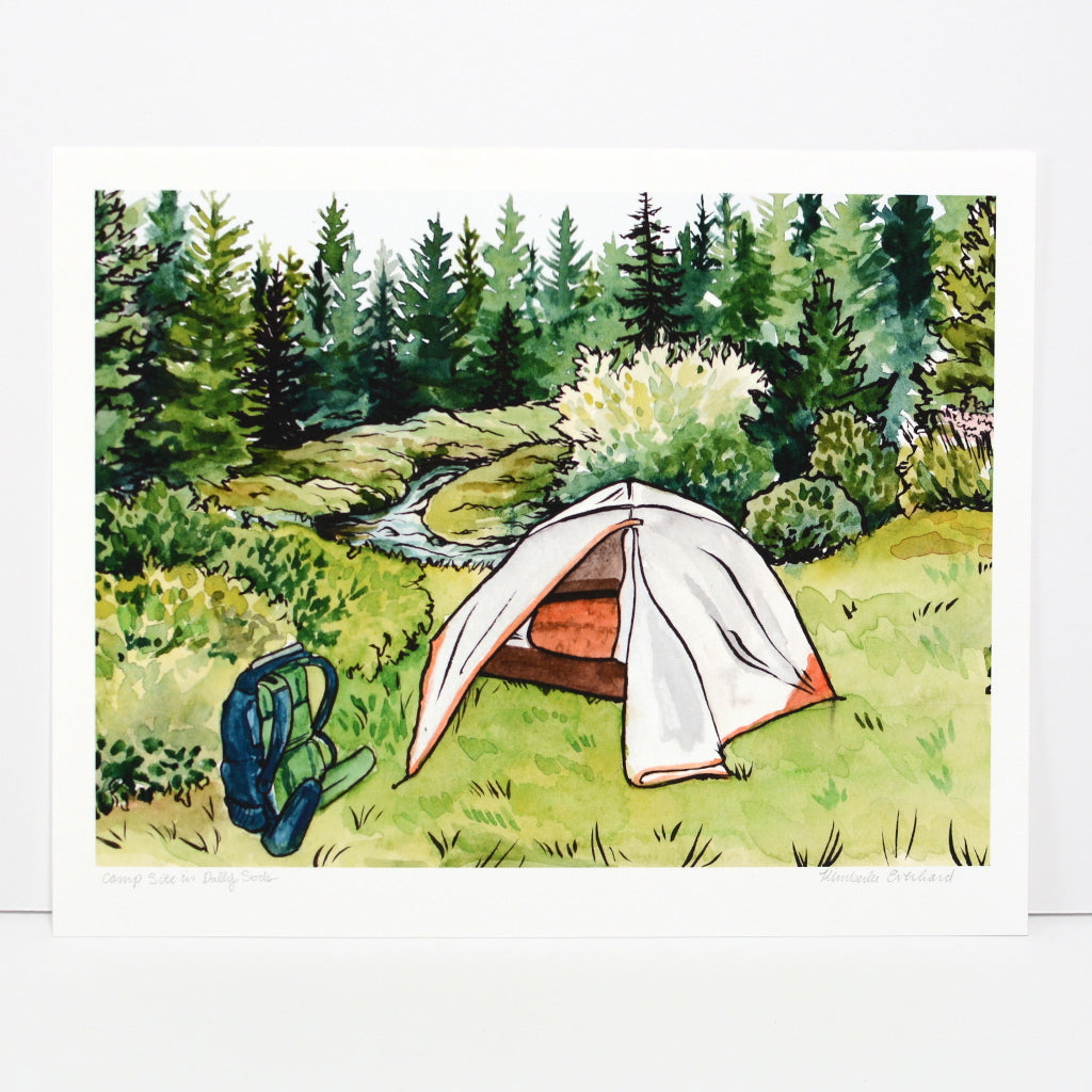 Campsite in Dolly Sods | Fine Art Print - Kim Everhard Art
