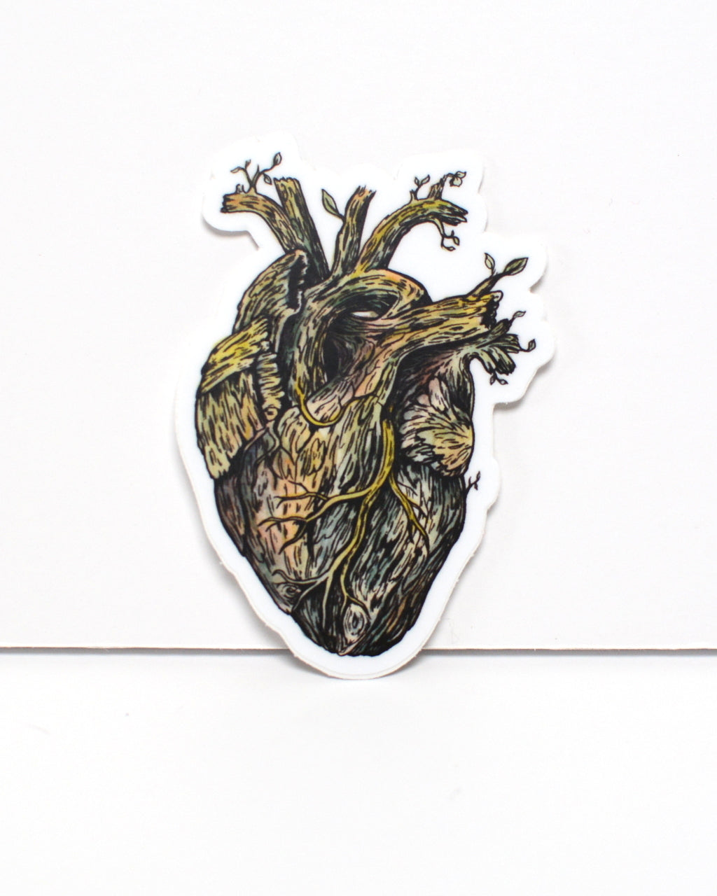 Nature Heart - vinyl sticker - Everhard Designs Nature Art