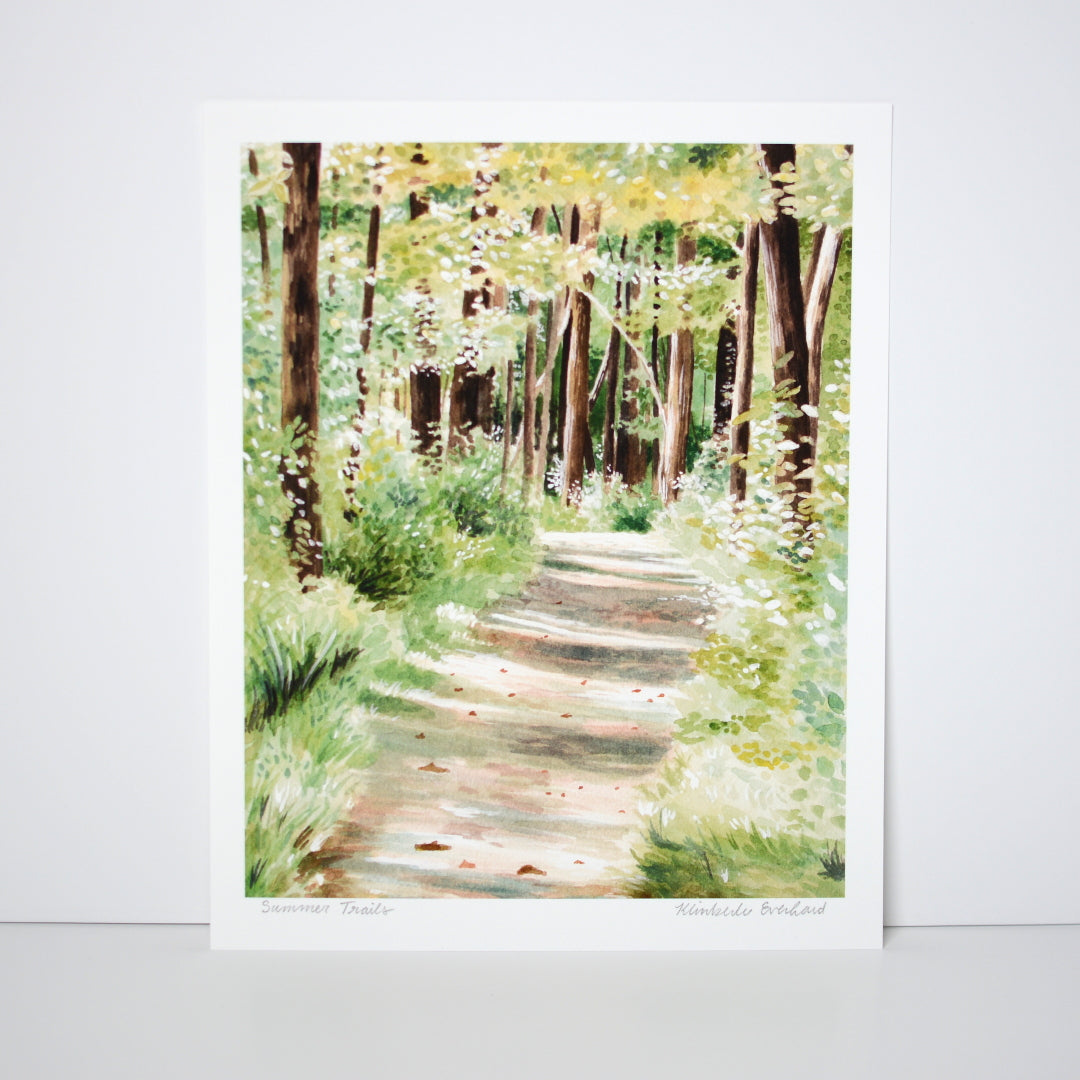 Summer Trails - Art Print - Everhard Designs Nature Art