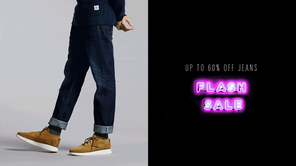 Up To 60% Off Mens Jeans - Flash Sale Today Only !
