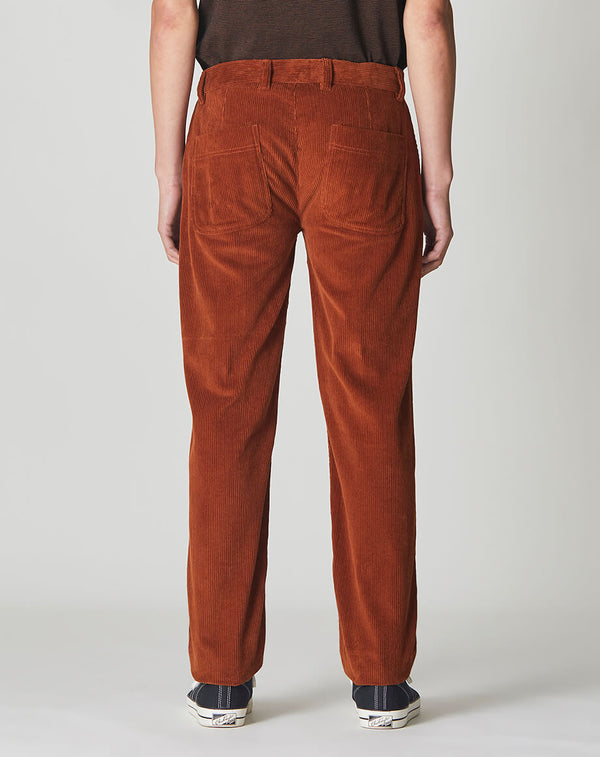 BELLFIELD ECOSSE CORDUROY MEN'S TROUSERS | OLD GOLD