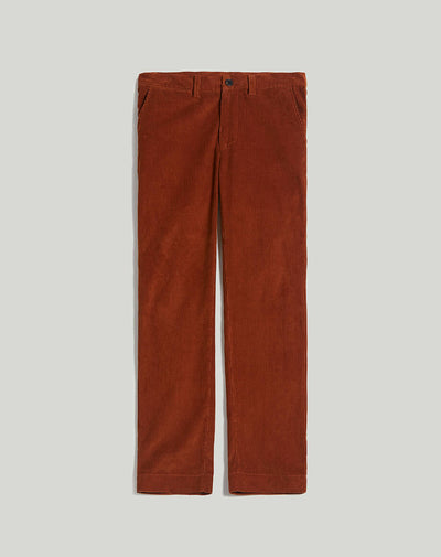 BELLFIELD ECOSSE CORDUROY MENS TROUSERS | OLD GOLD