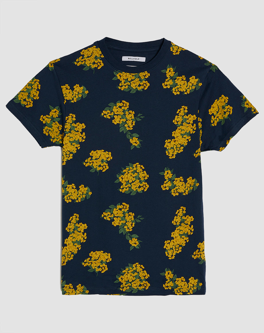 BELLFIELD ASTER MENS T-SHIRT | NAVY