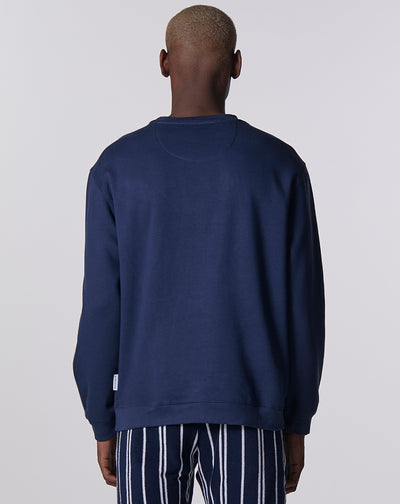 BELLFIELD AZURITE MENS SWEATSHIRT | NAVY