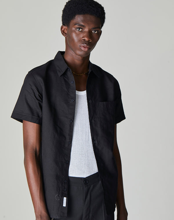 BELLFIELD BELEM MENS SHIRT | BLACK