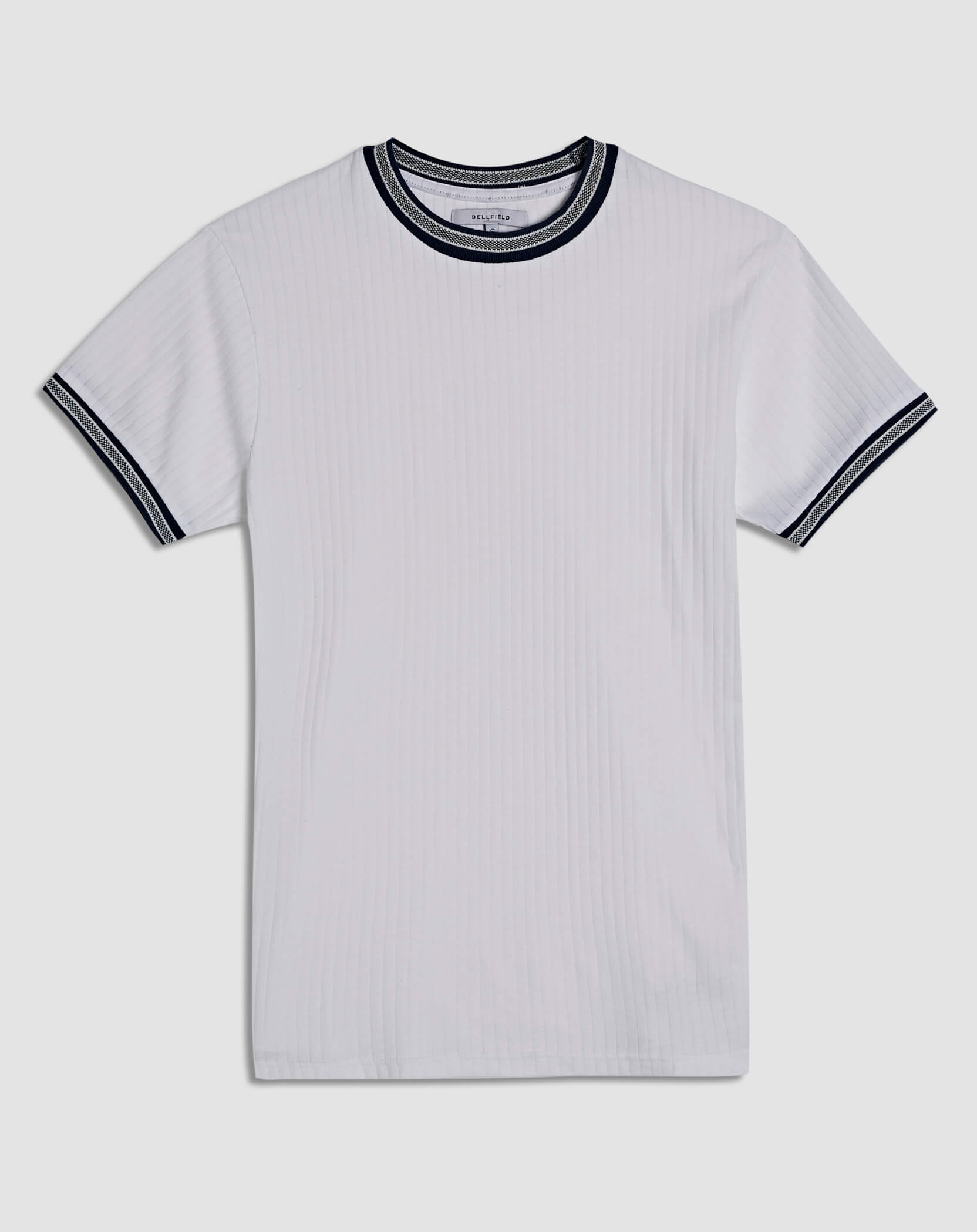 BELLFIELD BENDT MENS T-SHIRT | WHITE
