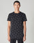 BELLFIELD CHEVY HORSESHOE PRINT MEN'S T-SHIRT | BLACK