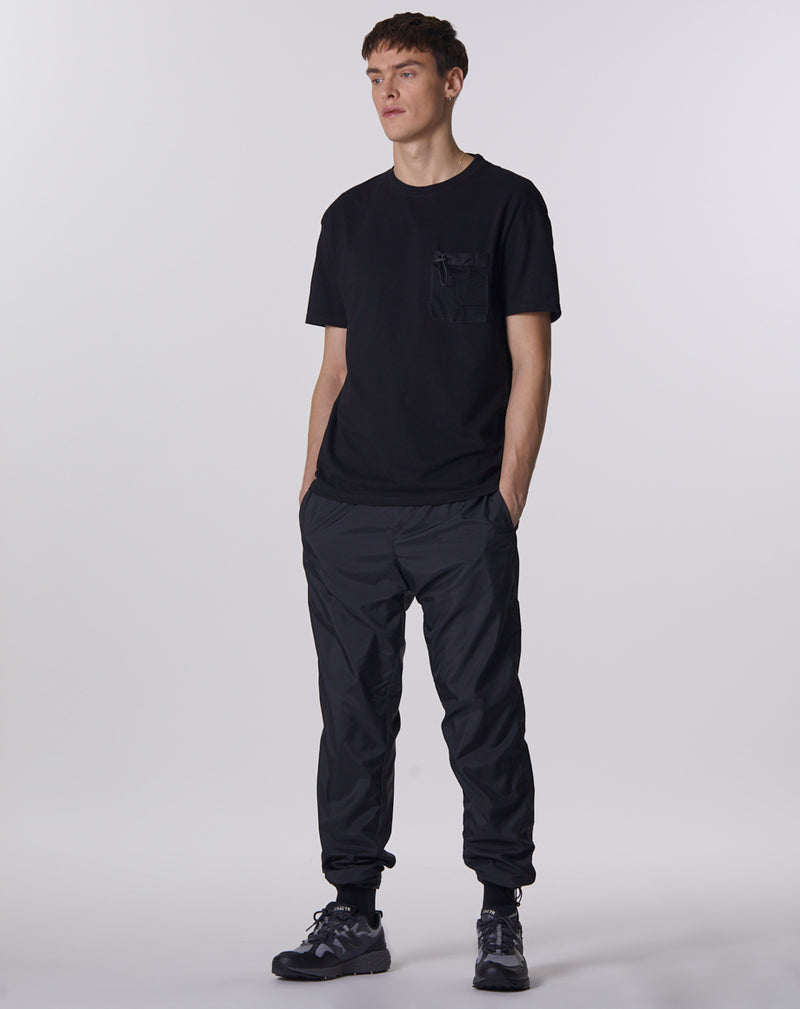 GENKO MESH UTILITY POCKET MEN'S T-SHIRT | BLACK