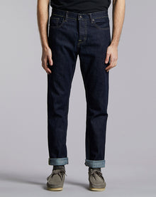 BELLFIELD GONZO CEDAR REGULAR DENIM JEAN | INDIGO RINSE WASH