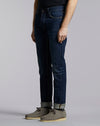 BELLFIELD GONZO INIKO REGULAR DENIM JEAN | DARK INDIGO VINTAGE WASH