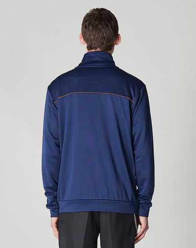 BELLFIELD MYLES WESTERN STYLE MEN'S TRACK TOP | NAVY