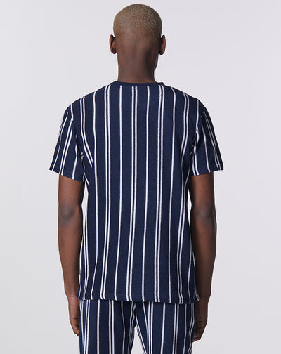 BELLFIELD SARDONIX MENS T-SHIRT | NAVY