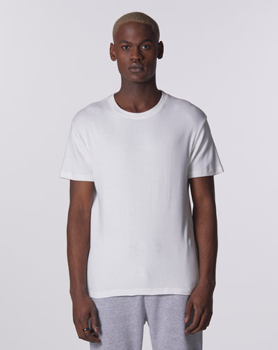 BELLFIELD SINDRI JERSEY MESH MEN'S T-SHIRT | WHITE