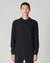BELLFIELD SPECTOR KNITTED MEN'S POLO | BLACK
