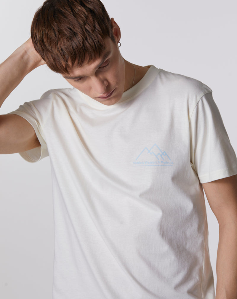 BELLFIELD TYCHON RESEARCH PROJECT PRINTED T SHIRT | IVORY