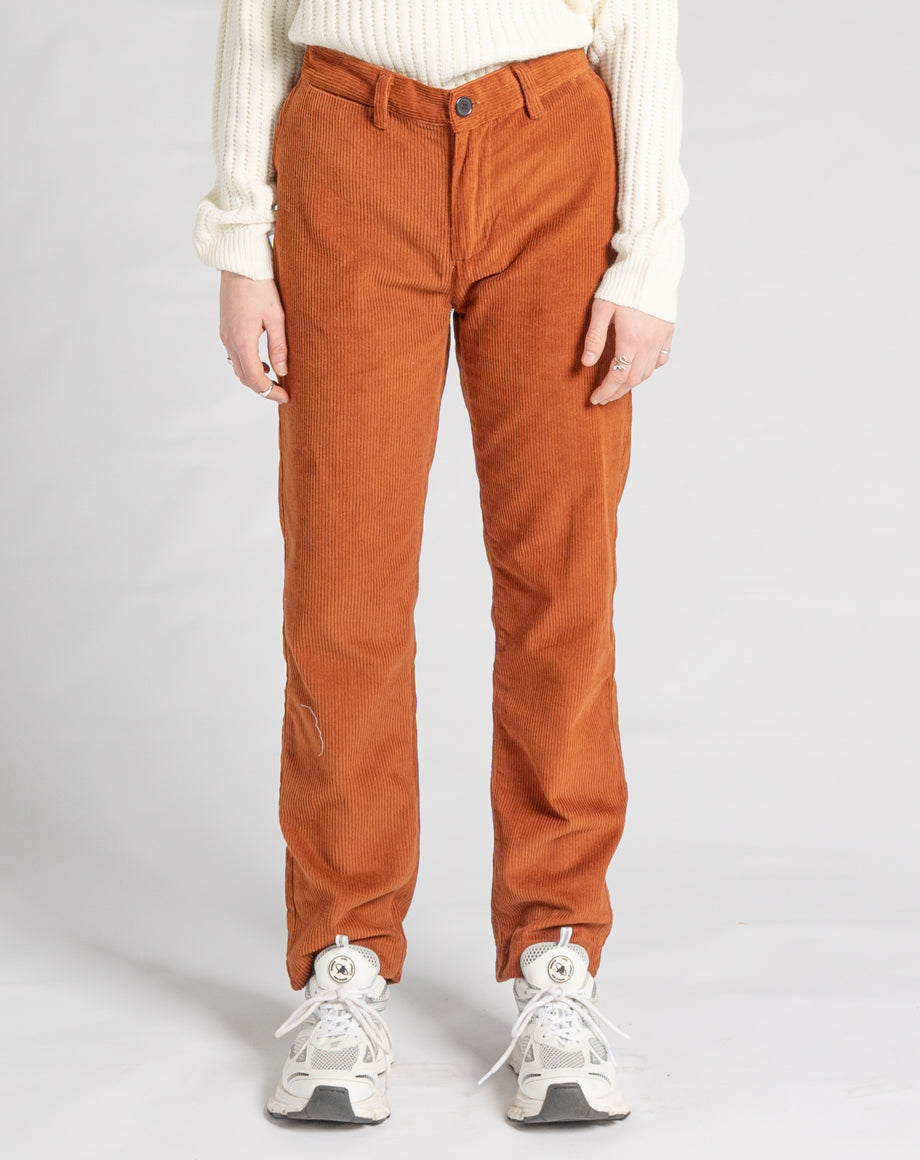 BELLFIELD ECOSSE CORDUROY UNISEX TROUSERS | OLD GOLD