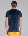 BROUSSARD MEN'S T-SHIRT | NAVY
