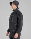 BELLFIELD NATHAN MICROFLEECE FUNNEL NECK SWEATSHIRT | BLACK