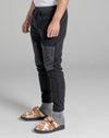 LEOPOLD MENS MICROFLEECE JOG PANTS | BLACK