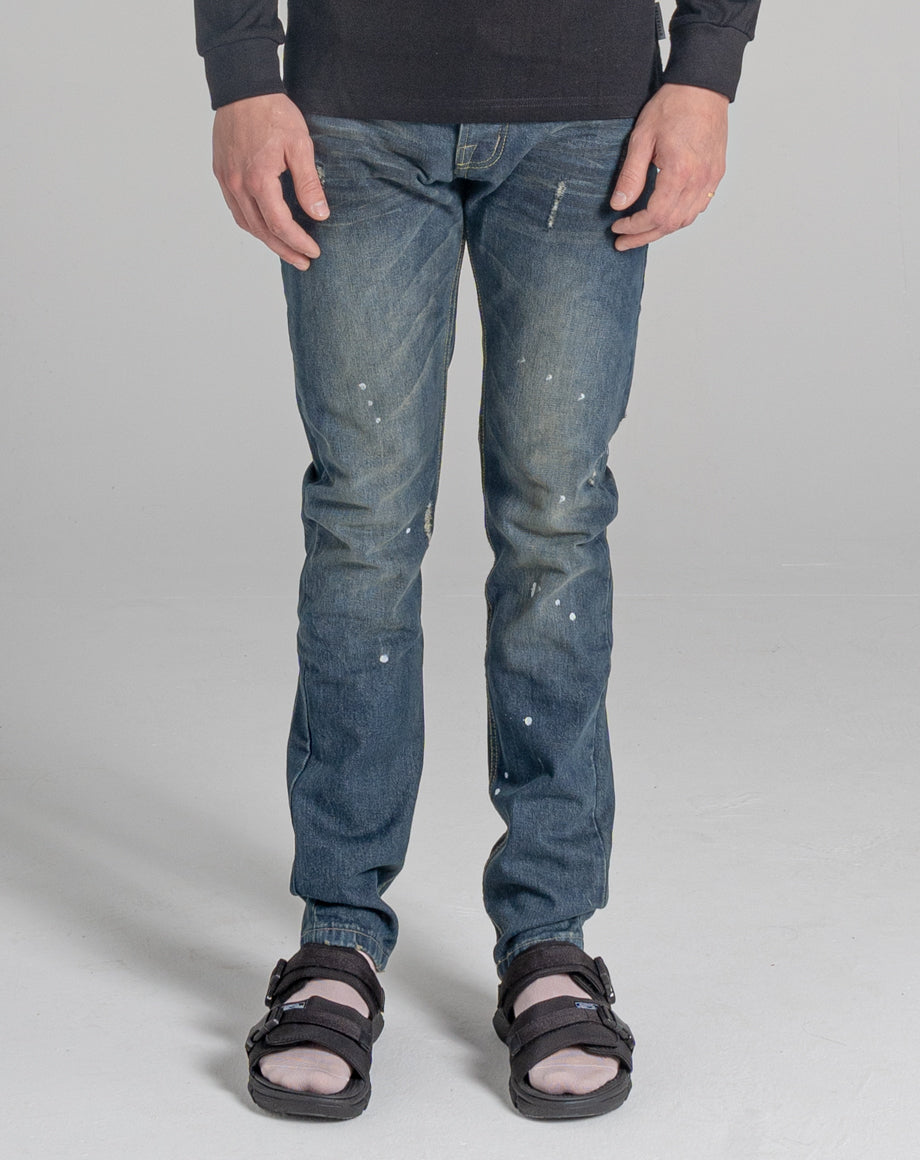 BELLFIELD HEMMINGWAY MEN'S JEANS | DISTRESSED