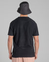 BELLFIELD OBERON TEXTURED UTILITY MEN'S T-SHIRT | BLACK