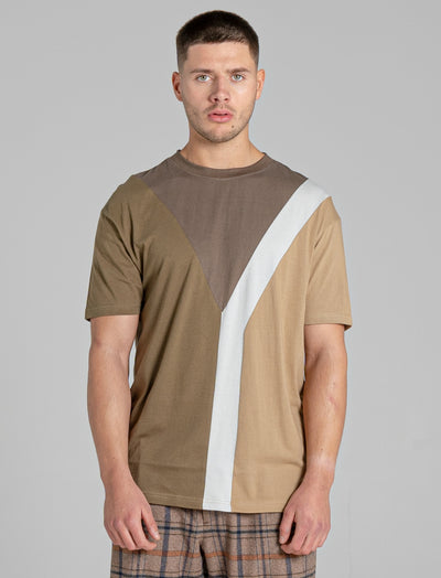 BELLFIELD VIVEK MEN'S T-SHIRT | KHAKI
