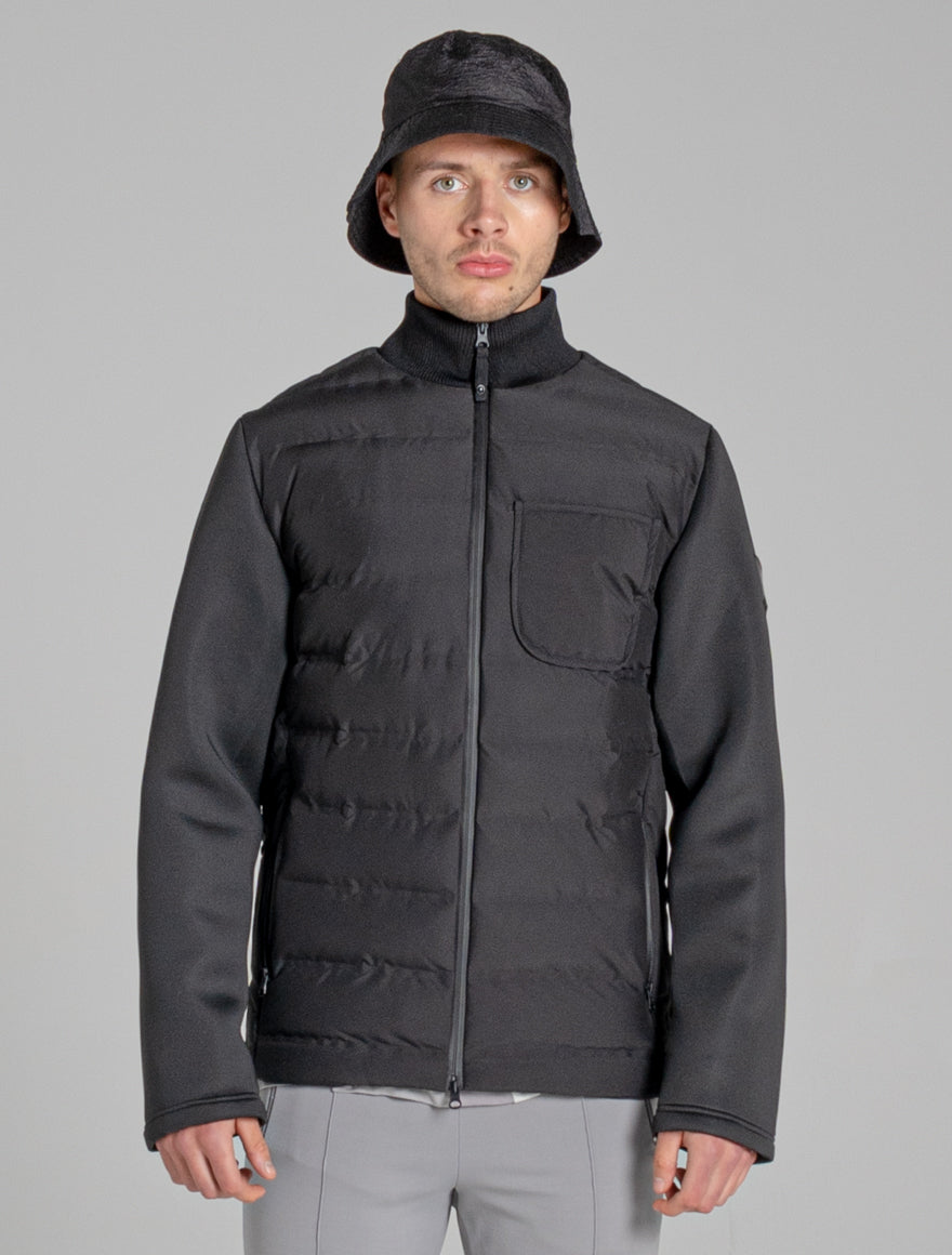 BELLFIELD SPREE HYBRID MENS JACKET | BLACK