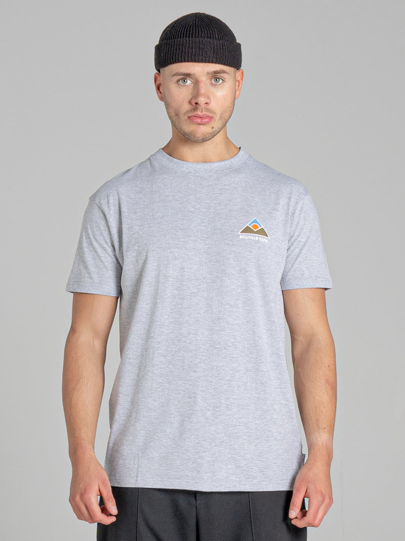 BELLFIELD ASPEN MEN'S T-SHIRT | GREY MARL