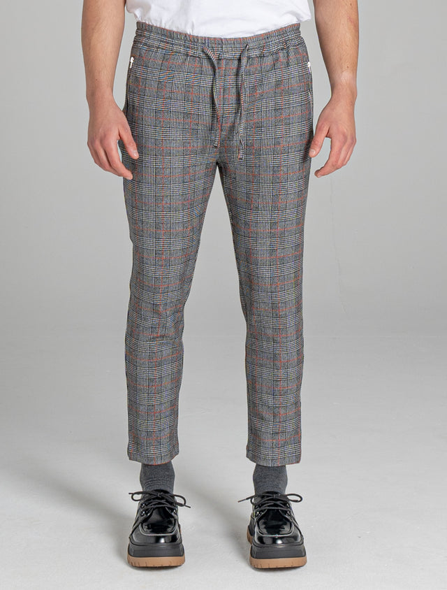 BELLFIELD TRENTO CHECK TAILORED MEN'S TROUSER | CROCODILE