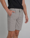 BELLFIELD CARLISLE CHECK TAILORED MEN'S SHORTS | MUSHROOM